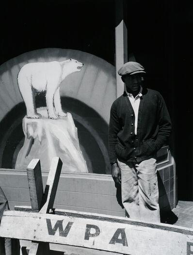 John Gutmann, 'W.P.A. San Francisco', 1937