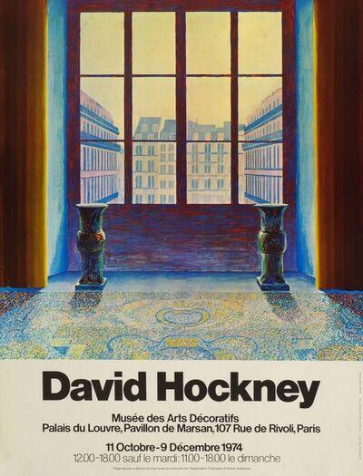 David Hockney, 'Musee des Arts Decoratifs', 1974