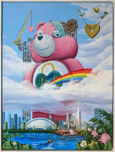 Todd Lawson, 'Secret Bear Idol', 2020