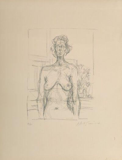 Alberto Giacometti, 'Nude with Flowers', 1960