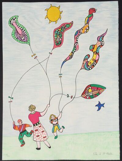 Niki de Saint Phalle, 'Les Cerfs Volant', 1995
