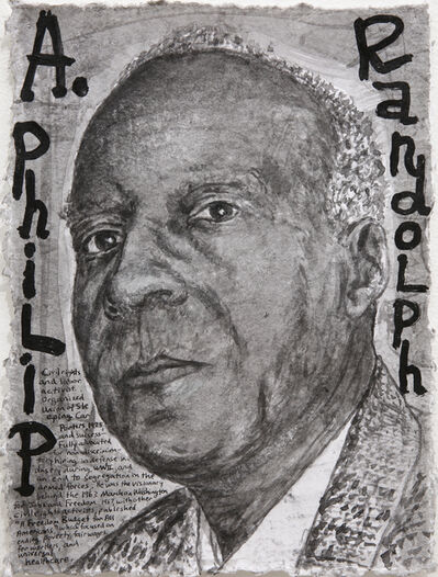 Dale Williams, 'Awareness Day Portraits - Asa Philip Randolph', 2018