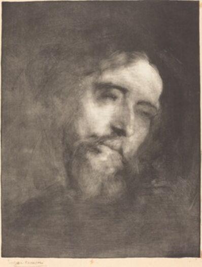 Eugène Carrière, 'Alphonse Daudet', 1893