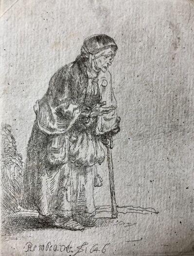 Rembrandt van Rijn, 'Old beggar (Vieille mendiante)', 1646