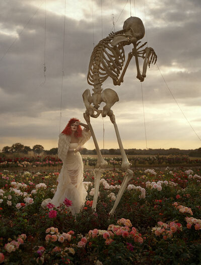 Tim Walker, 'Malgosia Bela and crying skeleton, Cants of Colchester', 2008