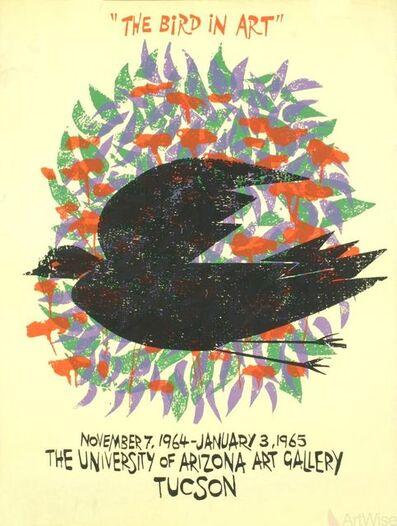 Antonio Frasconi, 'The Bird In Art', 1964