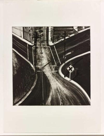 Wayne Thiebaud, 'Untitled (Intersection)', 1977