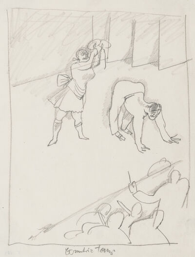 George Grosz, 'Eccentric Dance', 1914