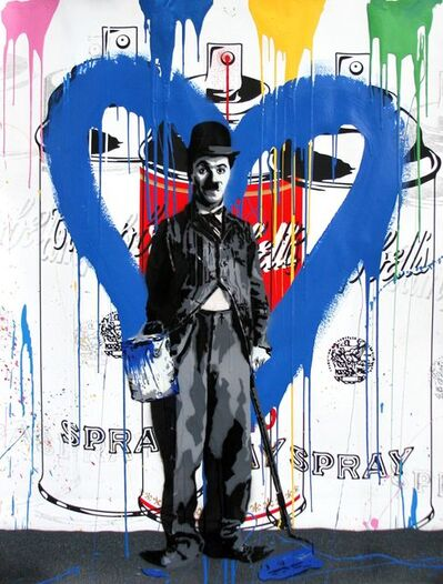 Mr. Brainwash, 'Chaplin', 2017