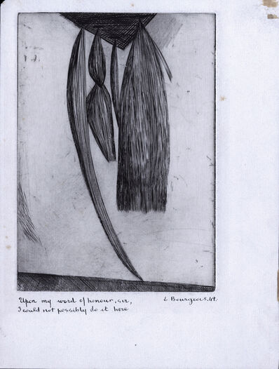 Louise Bourgeois, 'Hanging Weeds', 1949