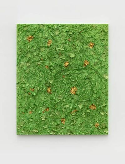 Yang Xinguang, 'Above the Soil (Aqua Green)', 2019
