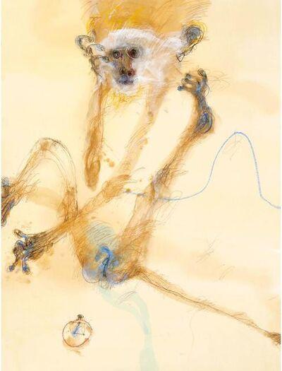John Olsen (b.1928), 'Monkey I', 0000