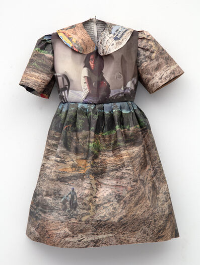 Andrea Lilienthal, 'New York Times Little Dress II', 2018