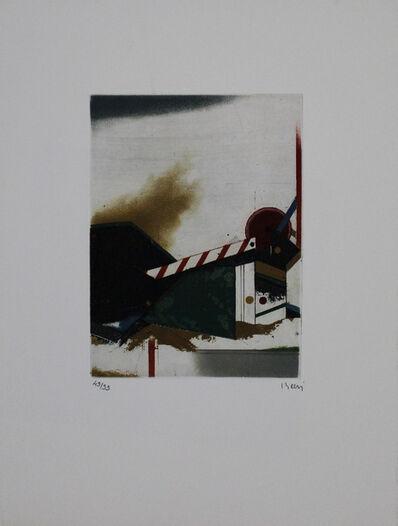 Tuvia Beeri, 'Frontière', 1987