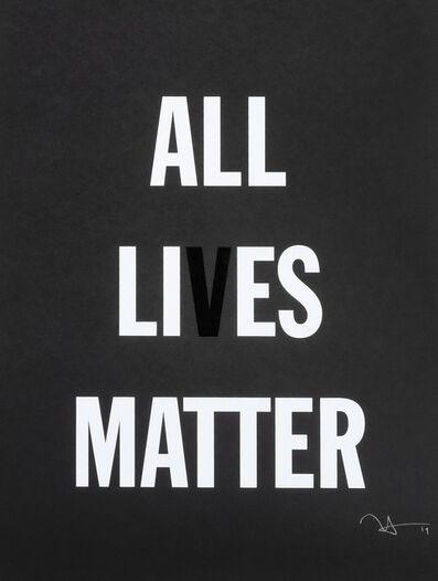 Hank Willis Thomas, 'All Lies Matter', 2019
