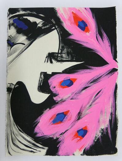 Ellen Berkenblit, 'Gouache and graphite on paper', 2016
