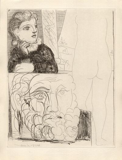 Pablo Picasso, 'La Bonne dans l'Atelier de Sculpture (S.V. 71)', 1933