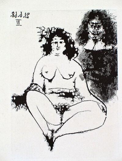 Pablo Picasso, 'Grosse Prostituée et Mousquetaire', 1968