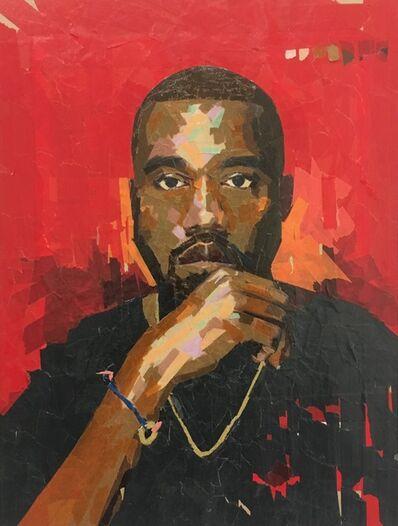 Damian Gonzales, 'Kanye', 2017