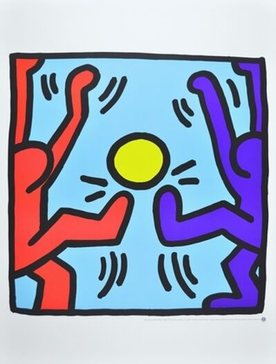 Keith Haring, 'Untitled (Playing People)', 1987/2000