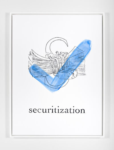 Mieke Marple, '$$$ ABCs (S is for Securitization)', 2018