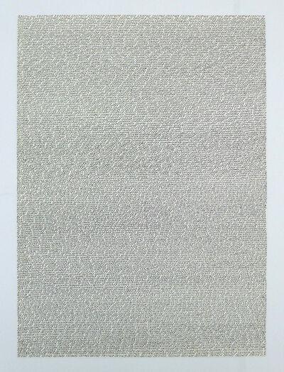 Roman Opalka, '1965/1 – ∞, Carte de voyage detail 2310630-2313775', 1965/1 – ∞