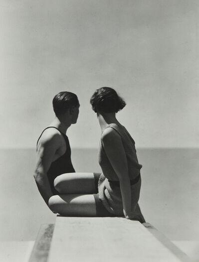 Hoyningen-Huene, 'Divers, Horst with Model, Paris', 1930