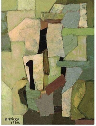 Tamara de Lempicka, 'Composition Abstraite'