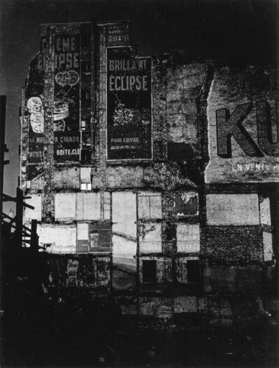 Brassaï, 'Façade Parisienne.', circa 1970
