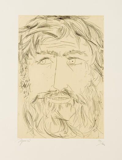 Giacomo Manzù, 'Ommagio a Michelangelo', 1975