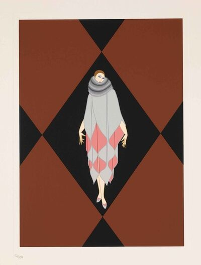 Erté (Romain de Tirtoff), 'Manhattan Mary IV', 1989