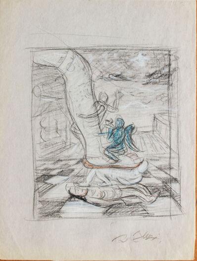 Pei Zhuangxin, 'Sketch ⼿稿《重疊的圖像》', 2000