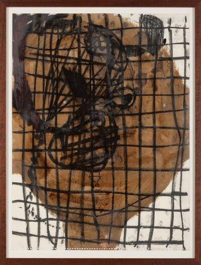 Anton Henning, 'Untitled (Head)', 1991