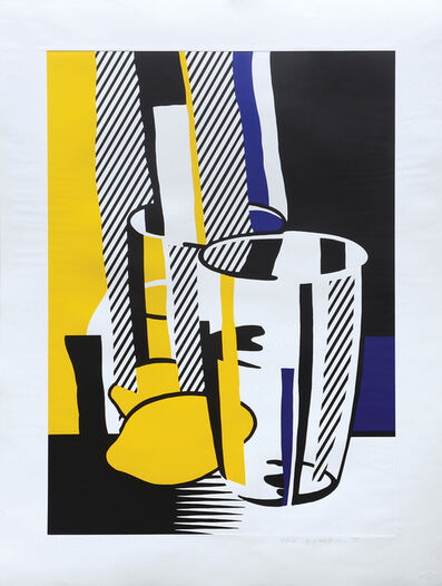 Roy Lichtenstein, 'Before the Mirror', 1975