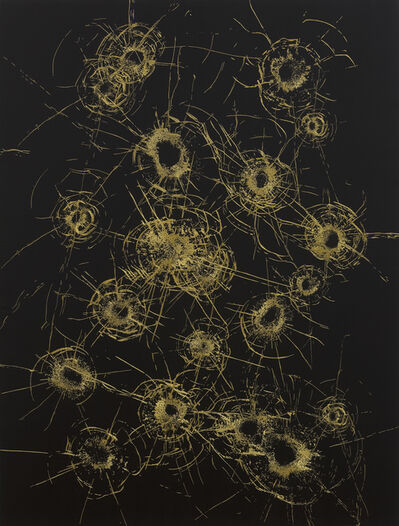 Zhao Zhao, 'Gold Constellation No.4 金星空 No.4', 2019