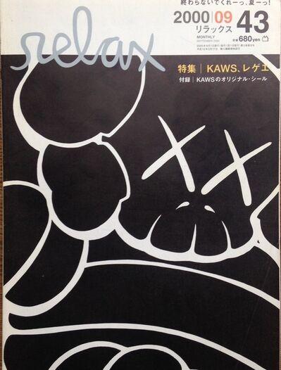 KAWS, 'Relax Magazine 2000 SEPT ISSUE 43', 2000