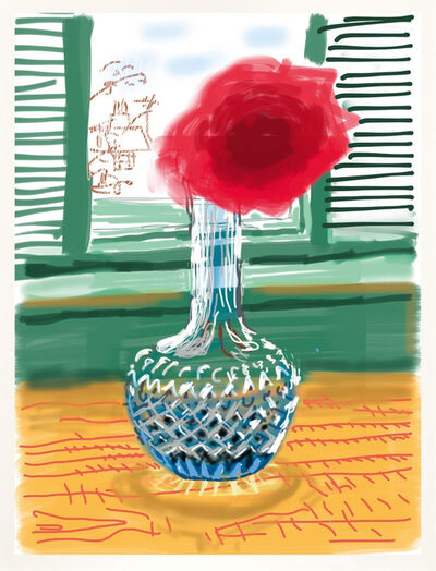 David Hockney, 'iPhone drawing 'No. 281', 23rd July 2010', 2019