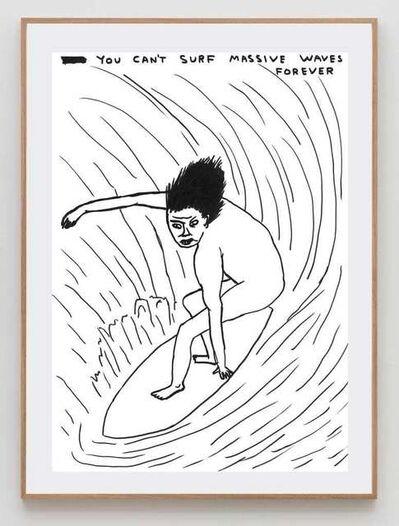 David Shrigley, 'Massive Waves', 2020