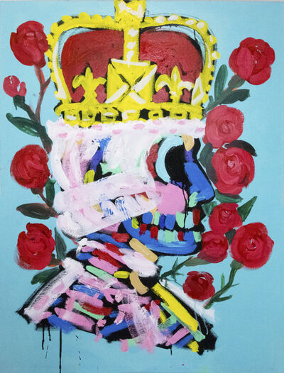 Bradley Theodore, 'King with Roses ', 2018