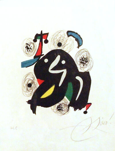 Joan Miró, 'La Melodie Acide'