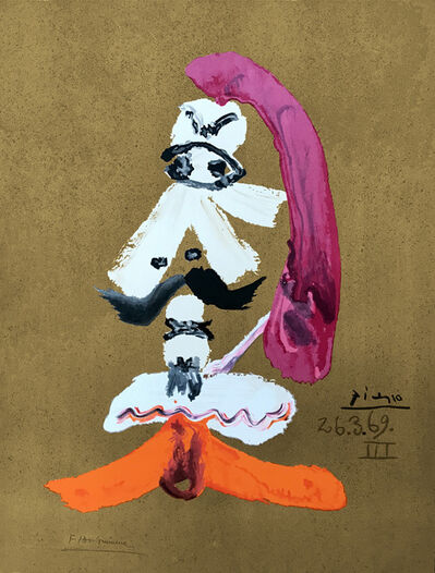 Pablo Picasso, 'Portraits Imaginaires 26.3.69 III', 1969
