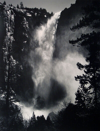 Ansel Adams, 'Bridalveil Fall, Yosemite National Park, California (Early Special Edition Print)', ca. 1960