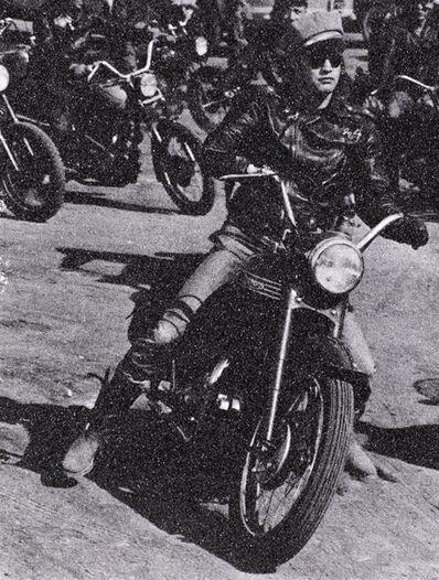 Russell Young, 'Brando Bike b+w', ca. 2010