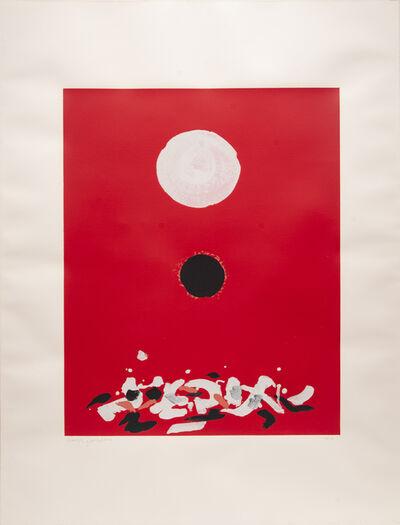 Adolph Gottlieb, 'Crimson Ground', 1972
