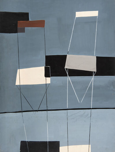 Jesús de la Sota, 'Untitled [Chairs]', 1955-1956