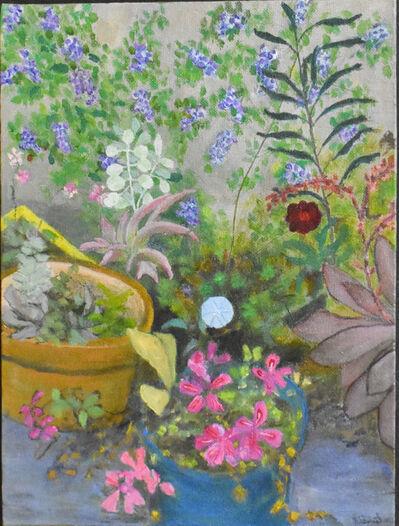 Robert Stewart, 'Garden still life 1', 2019-2020