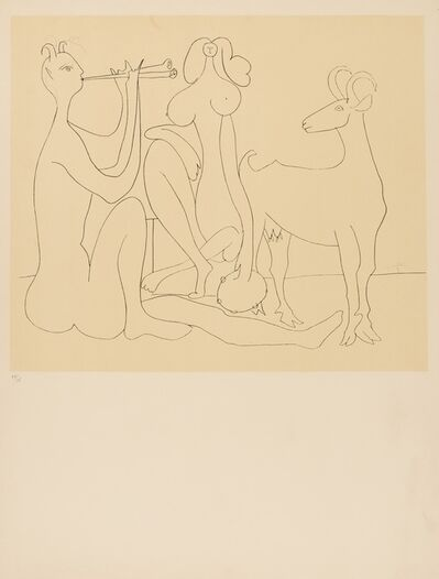 After Pablo Picasso, 'Mes Dessins d'Antibes (CZW 140)', 1958
