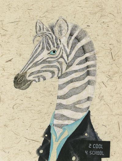 Fung Kuen Suet, Michelle, 'Artist Mugshot: Zebra', 2018