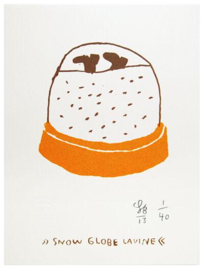 Soeren Behncke, 'Snow Globe Lavine', 2013