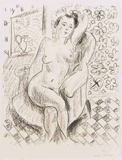 Henri Matisse, 'Nu au fauteuil sur fond moucharabieh', 1925